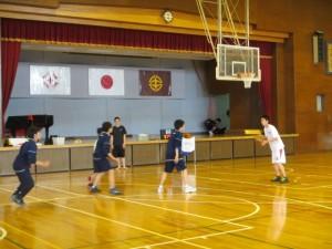 男子バスケット2