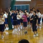 だんべ踊りの練習を行いました