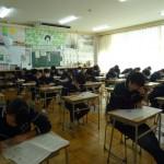 期末試験1日目