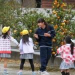 3年1組が老本幼稚園を訪問しました