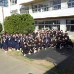 卒業式前日